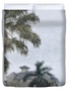 Memories Of The Tropics Duvet Cover