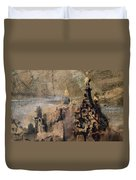 Memory Of Spain Duvet Cover by Victor Hugo