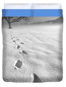 Memory Traces Of A Cold Day Duvet Cover