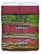 Memorytown Kissing Bridge Duvet Cover