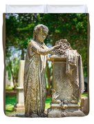 Memphis Elmwood Cemetery Monument - Cassie Hill Duvet Cover