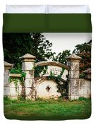 Memphis Elmwood Cemetery - Ayres Family Vault Duvet Cover