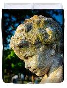 Memphis Elmwood Cemetery - Boy Angel Vertical Duvet Cover