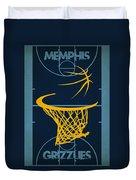 Memphis Grizzlies Court Duvet Cover