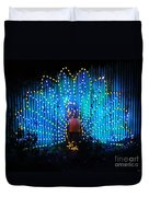 Memphis Zoo Lights Duvet Cover