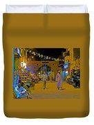 Men In The Spice Market In Aswan-egypt  Duvet Cover