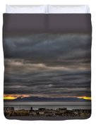 Menacing Skies Duvet Cover