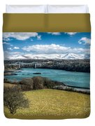 Menai Bridge 1819 Duvet Cover