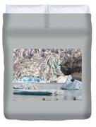 Mendenhall Glacier Detail Juneau Alaska Duvet Cover