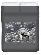 Mendenhall Lake Ice Abstract Duvet Cover