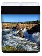 Mendocino Coast Duvet Cover