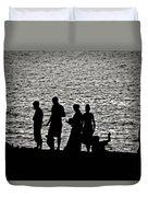Mennonite Sunset Duvet Cover