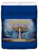 Menorah Duvet Cover