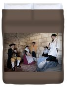 Menorquins Dress And Suit  Back In Time Xviii Century Duvet Cover