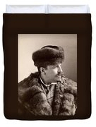 Men's Fashion, 1890s Duvet Cover