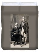 Men's Fashion, 1917 Duvet Cover