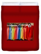 Mens Tuxedo Vests In A Rainbow Of Colors Duvet Cover