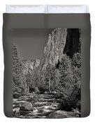Merced River Yosemite Duvet Cover