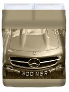 Mercedes Benz 300 Sl Roadster 1957 Duvet Cover
