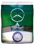 Mercedes Benz Hood Ornament 3 Duvet Cover