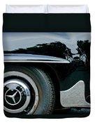 Mercedes-benz Wheel Emblem Duvet Cover