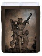 Mercury Carrying Eurydice To The Underworld Duvet Cover