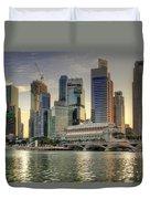 Merlion Park In Singapore 3 Duvet Cover