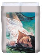 Mermaid Helen Duvet Cover