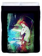 Mermaid Of The Tides Duvet Cover