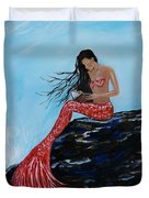 Mermaids Timeless Tales Duvet Cover