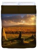 Merrivale Stone Rows Duvet Cover