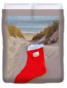 Merry Christmas Stocking 2 12/23 Duvet Cover