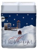 Merry Christmas Duvet Cover by Susan Candelario