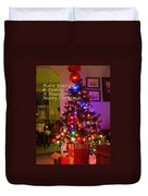 Merry Christmas Wish Duvet Cover