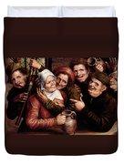 Merry Company Duvet Cover