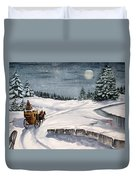 Merry Ride Duvet Cover