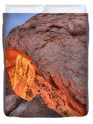 Mesa Arch Portrait Duvet Cover