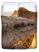 Mesa Arch Sunrise 6 - Canyonlands National Park - Moab Utah Duvet Cover