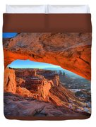 Mesa Sunrise Glow Duvet Cover