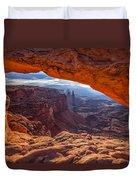 Mesa's View Duvet Cover by Darren  White