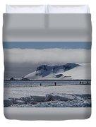 Mesmerizing Antarctica... Duvet Cover