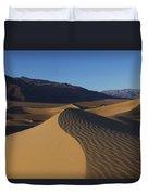 Mesquite Dunes Death Valley 1 Duvet Cover