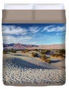 Mesquite Flat Dunes Duvet Cover