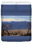 Mesquite Flat Sand Dunes Stovepipe Wells Death Valley Duvet Cover
