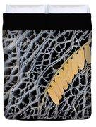 Mesquite Leaves Duvet Cover