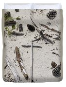 Message In The Sand Duvet Cover by Benanne Stiens