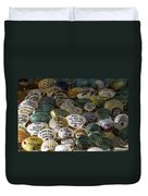 Messages On Shells Duvet Cover