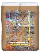 Messy Background Duvet Cover by Carlos Caetano