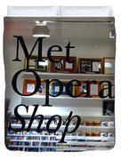 Met Opera Shop Duvet Cover