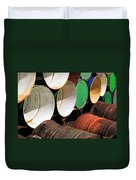 Metal Barrels 1 Duvet Cover